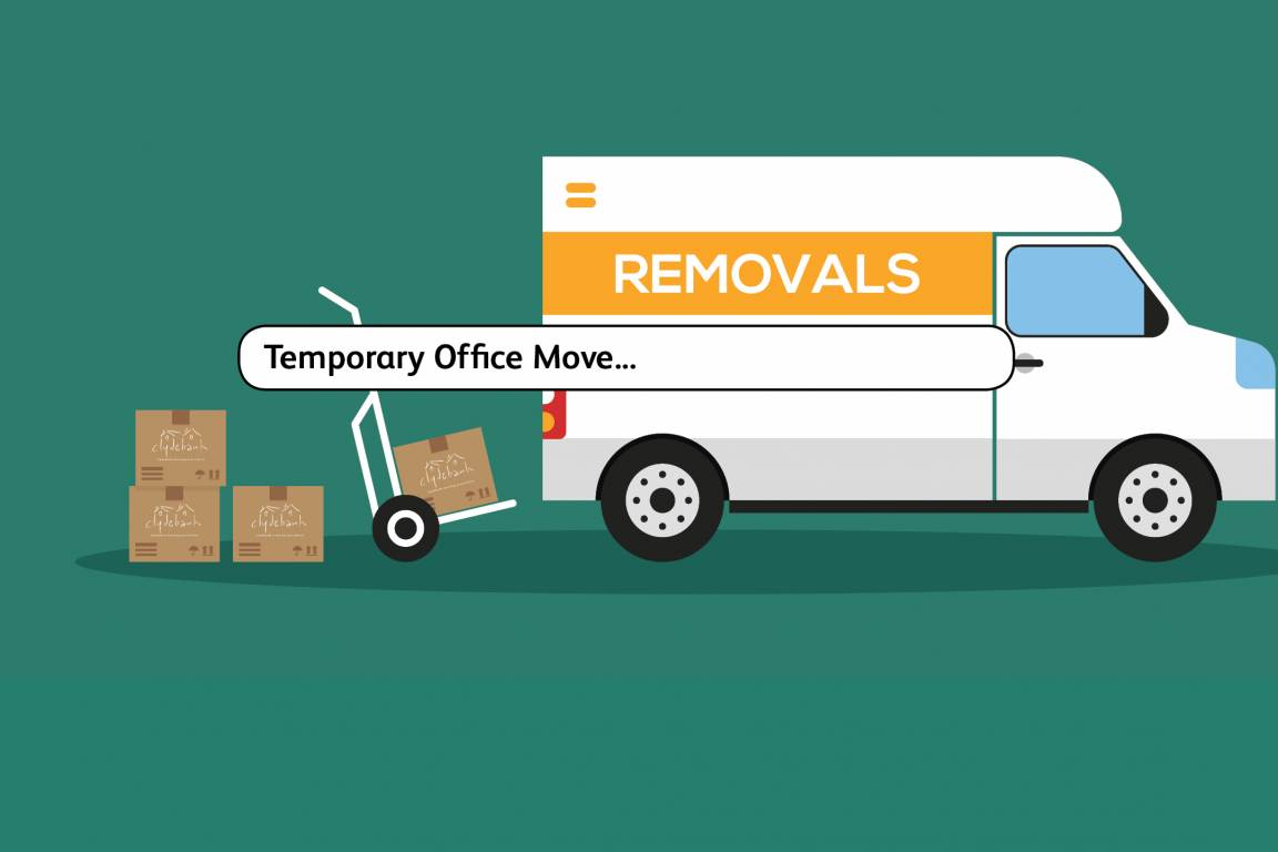 Temporary Office Move from 10 January